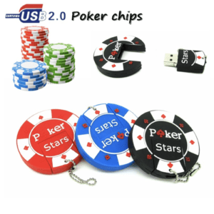 USB stick poker chip
