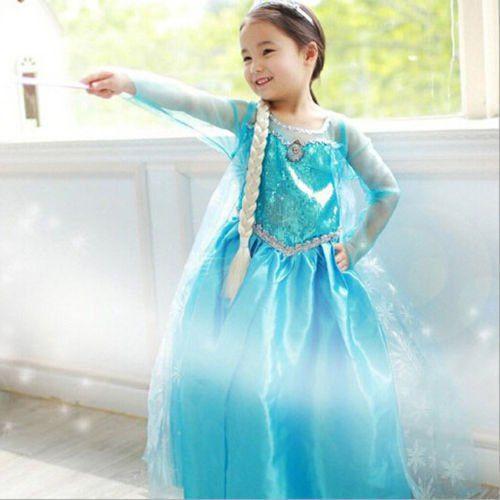 High Quality Princess Elsa Frozen Dress  sc 1 st  TrendBaron.com & High Quality Princess Elsa Frozen Dress - TrendBaron.com