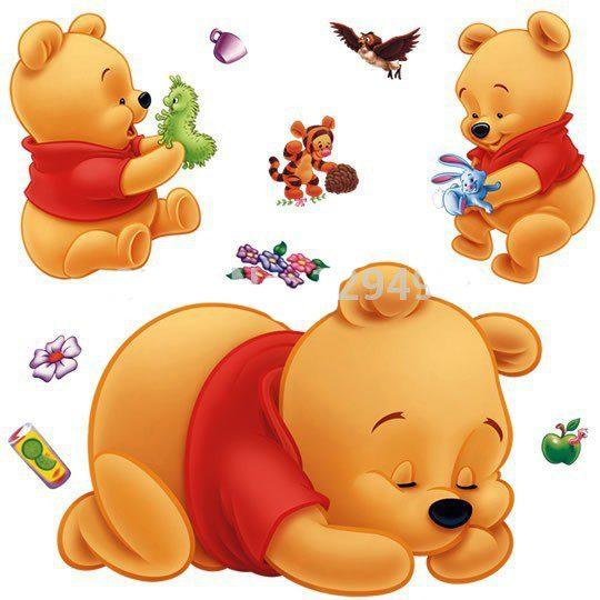 winnie the pooh wall stickers for kids bedroom trendbaron com