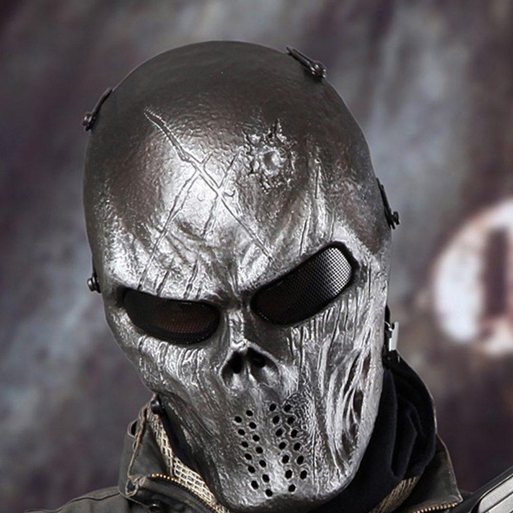 Deluxe Camouflage Ghost Mask - TrendBaron.com