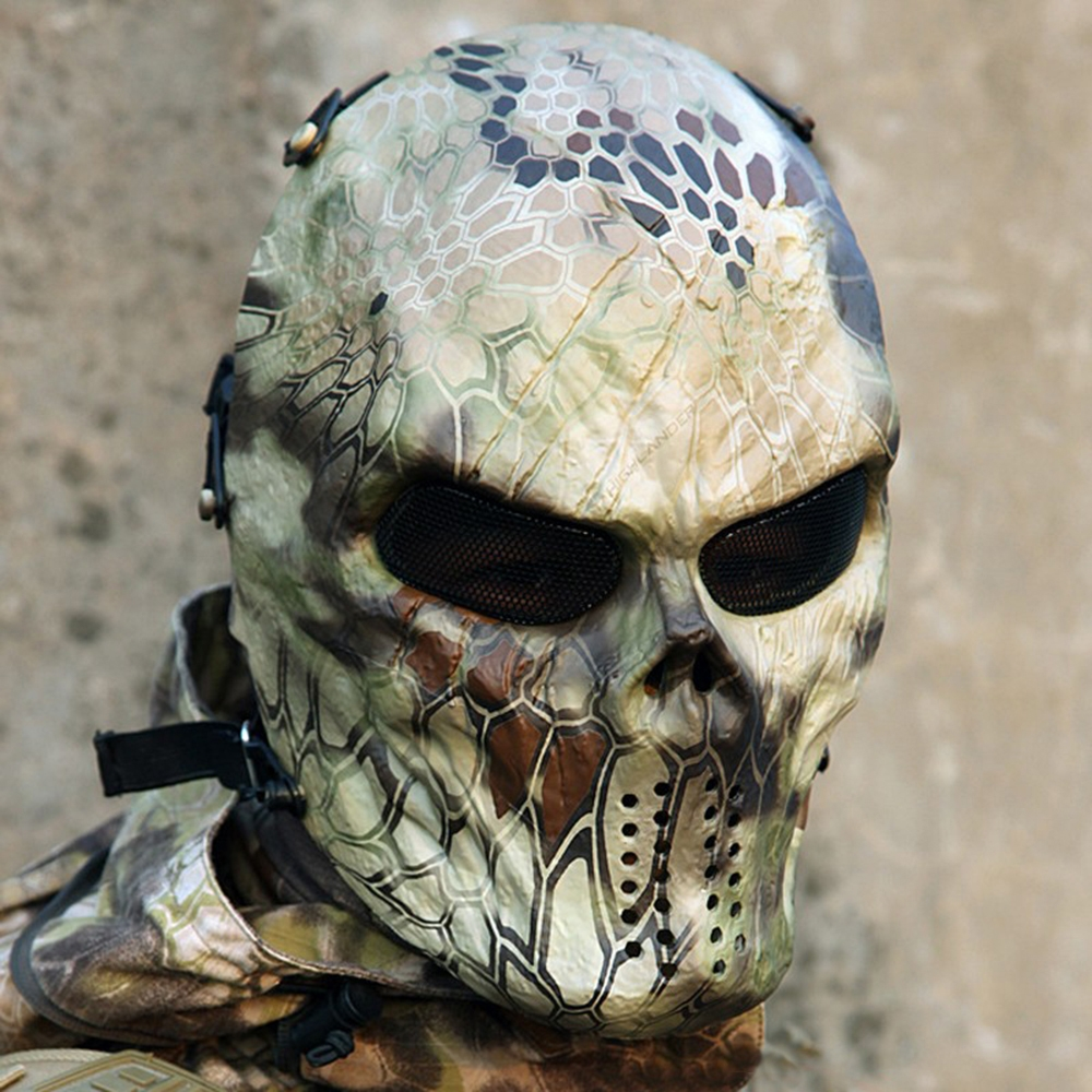 Deluxe Camouflage Ghost Mask - TrendBaron.com - Always the best gear