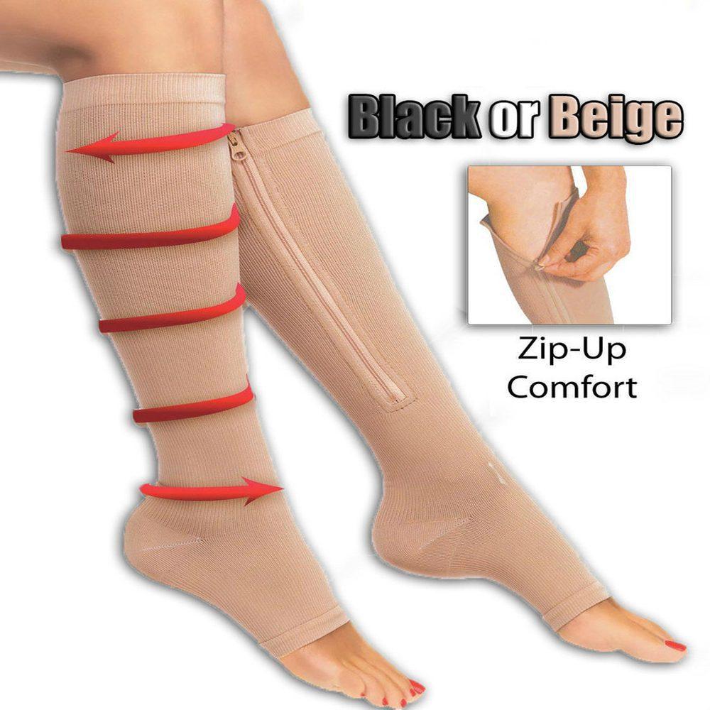 New Zip Compression Socks Trendbaron Com