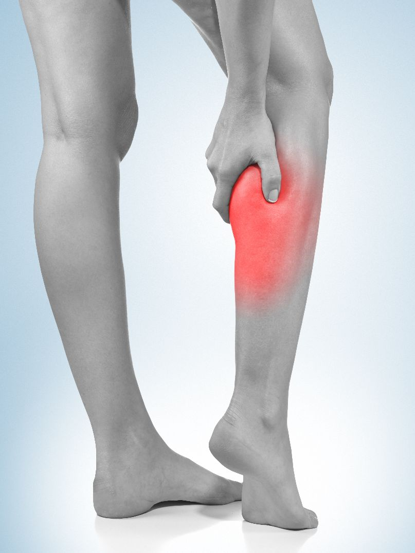 calf pain compression