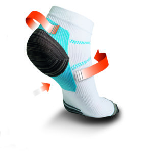heel ankle achilles plantar fasciitis pain management socks