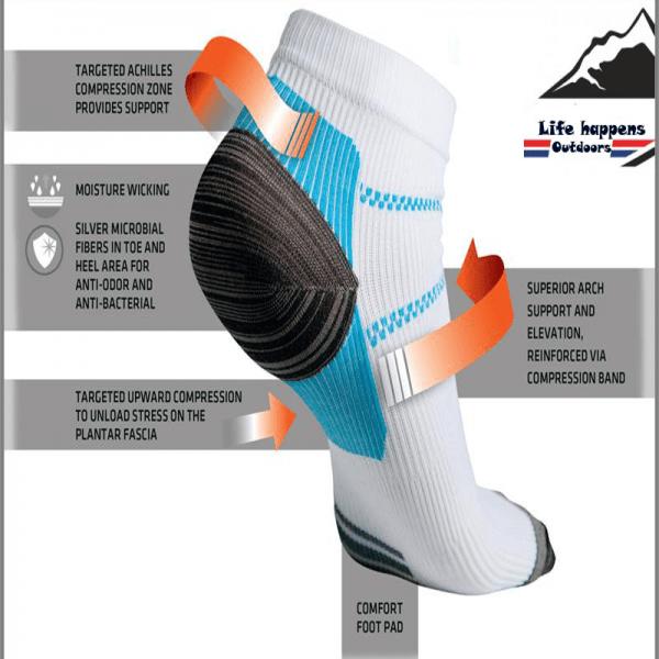 plantar fasciitis socks, compression socks, heel & achilles support