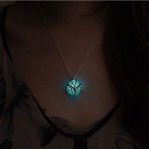 Glowing Tree of Life Necklace