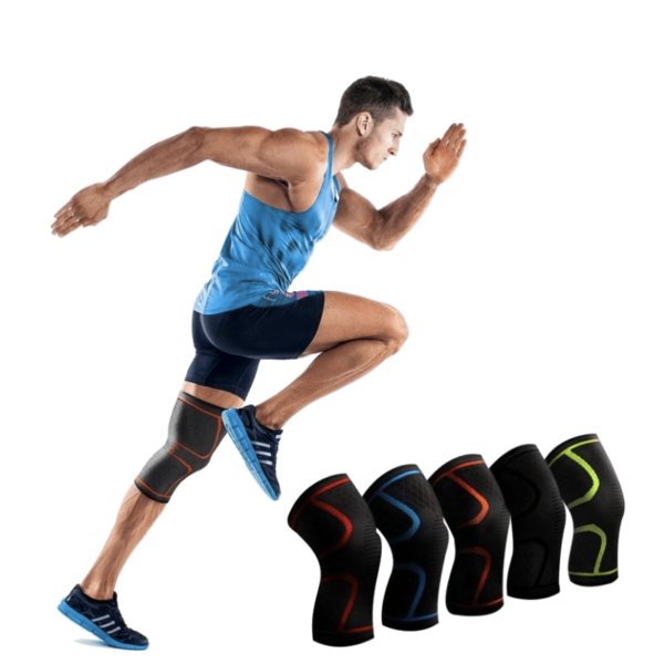 painless knee support brace compression gear for running men and women