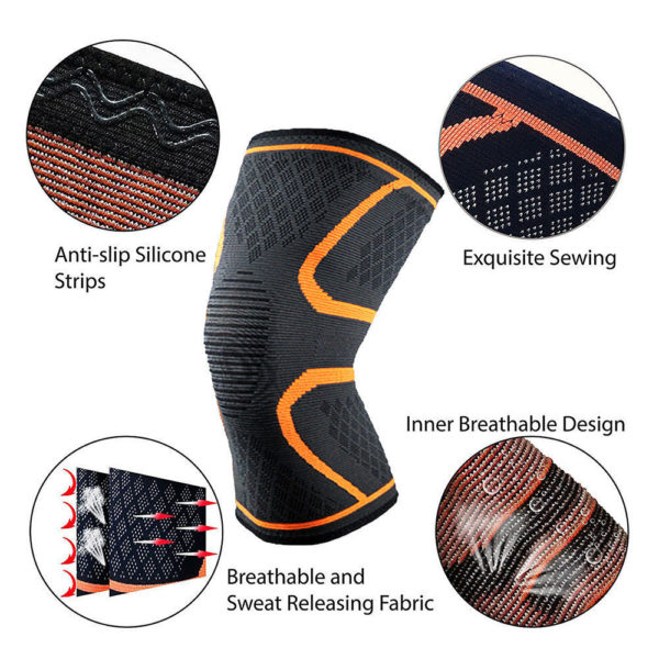 painless knee support braces compression gear