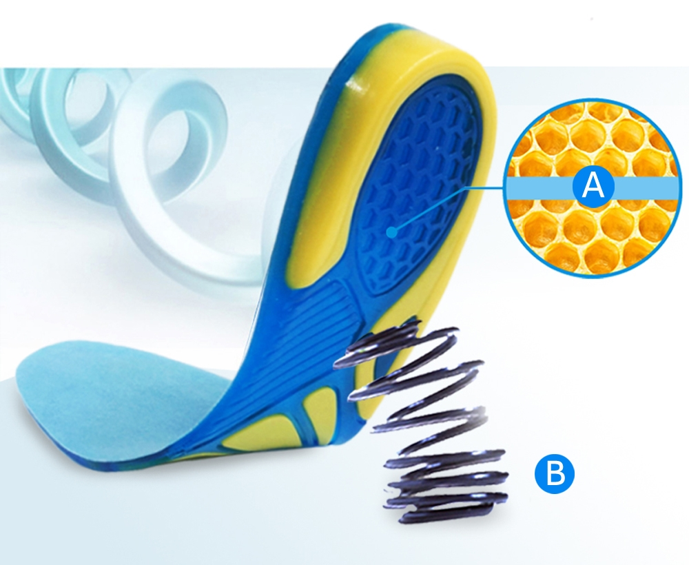 honeycomb silicone gel insoles