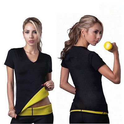 Sauna Shaper Shirt for women sweat more