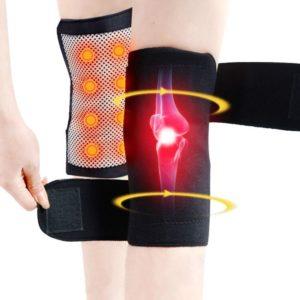 self heating tourmaline knee brace