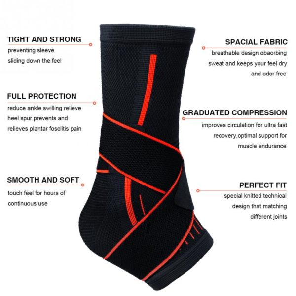 features and benefits ankle support brace