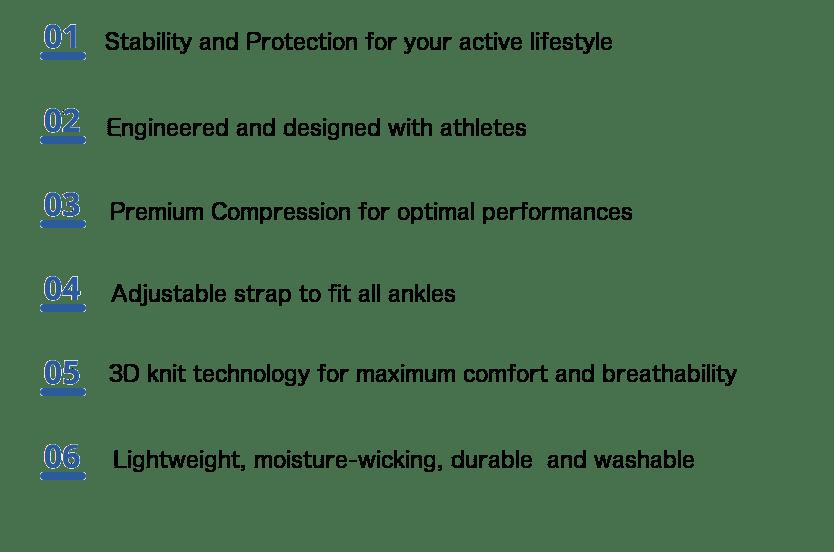 benefits ankle brace