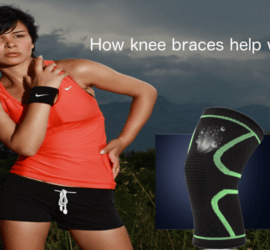 how knee braces help with running