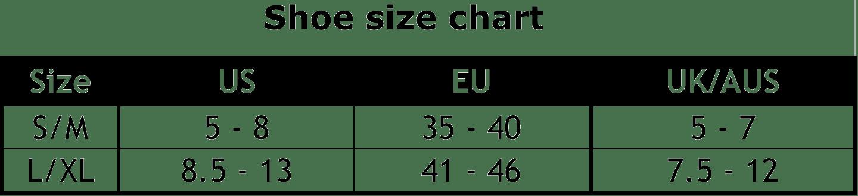 foam insoles plantar fasciitis size chart