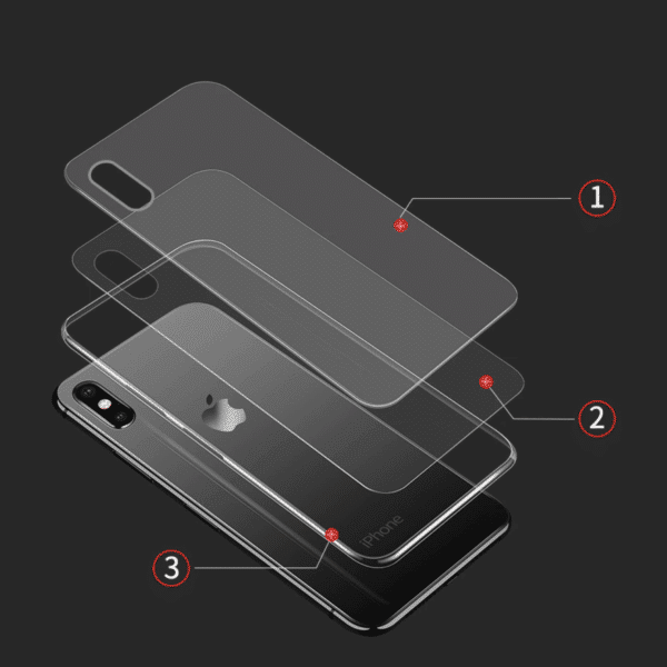 double layered invisible iPhone case