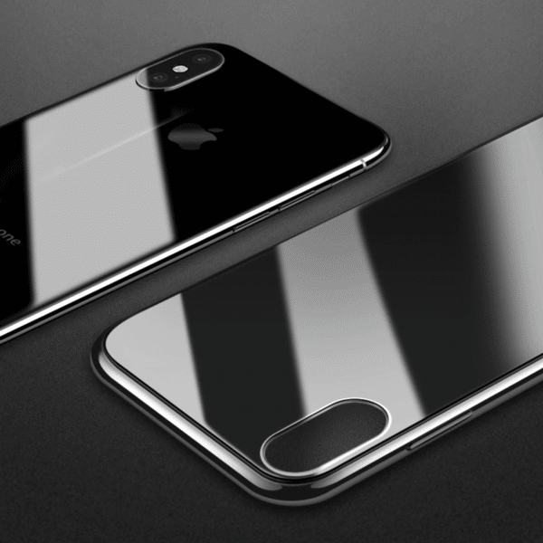 beautiful invisible iPhone case with real glass