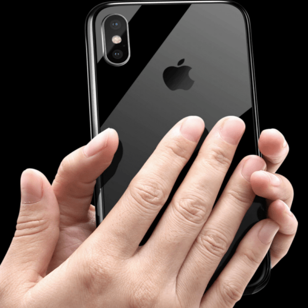 invisiglass invisible tempered glass iPhone case