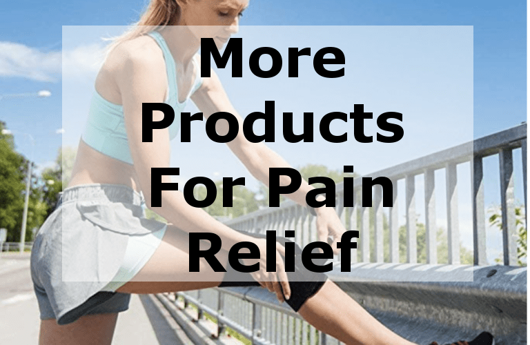 products for pain relief for foot knee back hand ankle leg