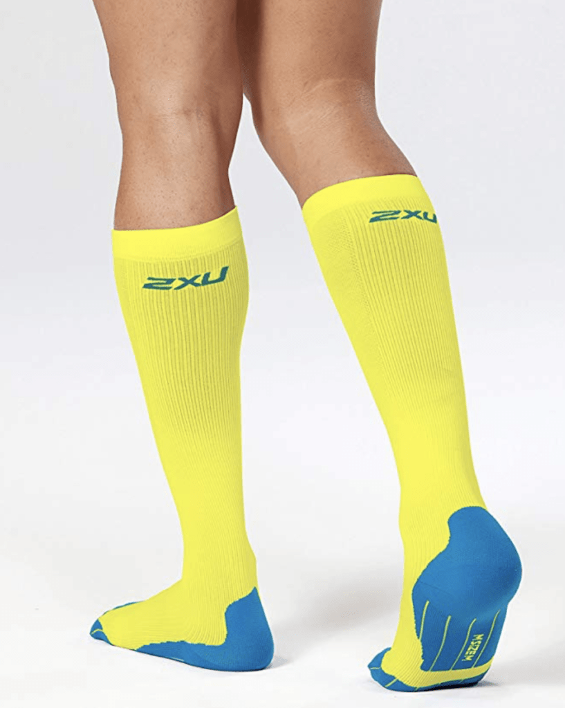 2XU Men's Compression Performance Run Socks