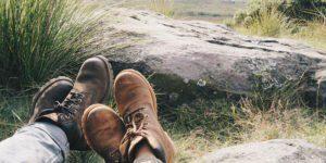 protecting your feet before hiking long walking climbing