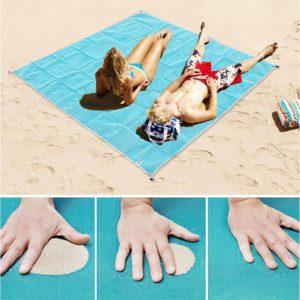 multipurpose sand free sadness beach mat blanket waterproof camping fishing picnic