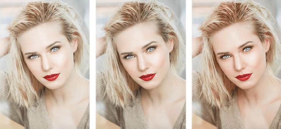 perfekt selfie camera light beauty shots